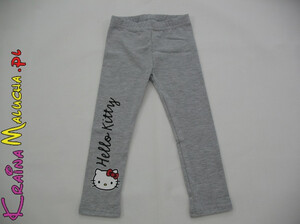 Legginsy Hello Kitty szare